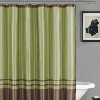 Alleyton Shower Curtain Color: Sage