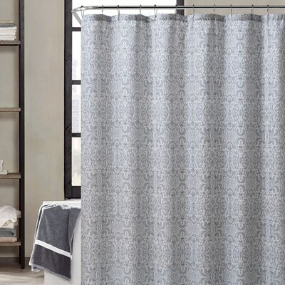 Romona Shower Curtain Color: Gray/Taupe