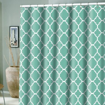 Hoffmann Microfiber Rio Shower Curtain Color: Province