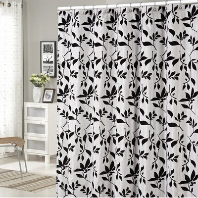 Billingham Leaves Flock Shower Curtain