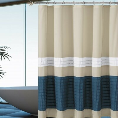 Alia Pleated Shower Curtain