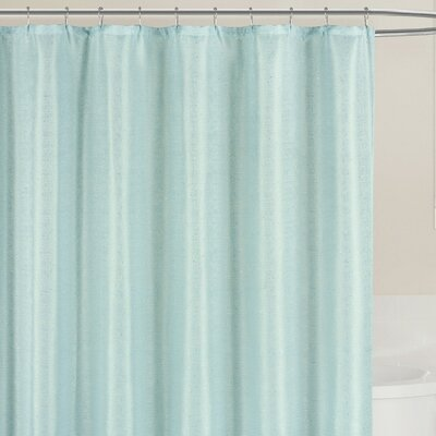 Breton Shower Curtain Color: Spa Blue