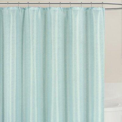 Fraser Shower Curtain Color: Spa Blue