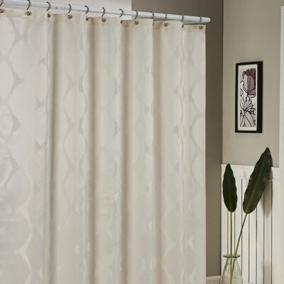 Blackburn Shower Curtain Color: Ivory