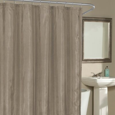 Birch Creek Shower Curtain Color: Parchment