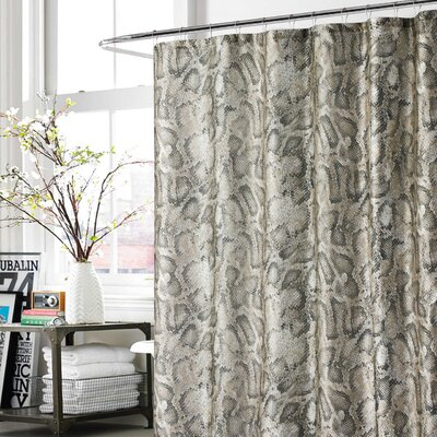 Daniel Shower Curtain Color: Taupe