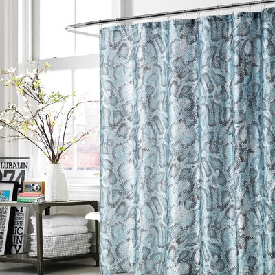 Daniel Shower Curtain Color: Teal