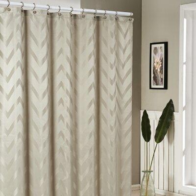 Bilmont Shower Curtain Color: Beige