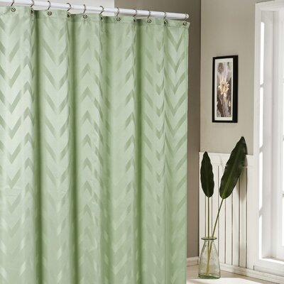 Bilmont Shower Curtain Color: Sage