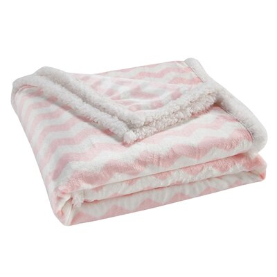 Lorene Sherpa Throw Color: Bubble Gum Pink