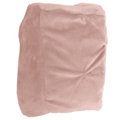 Weissinger Pintuck Throw Color: Pretty Pink