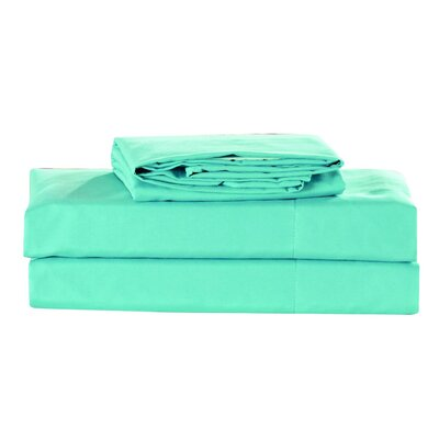 Elderton 4 Piece Sheet Set Color: Aqua Haze