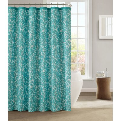 Susie Shower Curtain Color: Teal