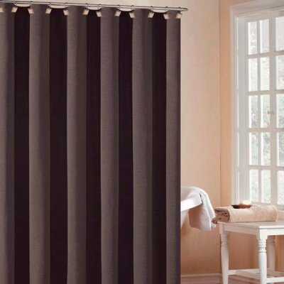 DR International Bahamas Hotel Shower Curtain in Chocolate - BHSCO 12 9469