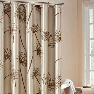 Soleil Shower Curtain in Beige