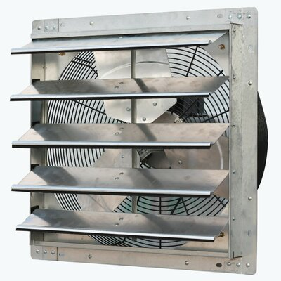 3300 CFM Bathroom Fan with Variable Speed