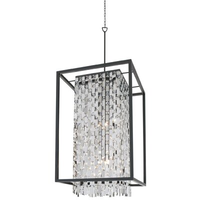 Amethyst 9-Light Foyer Pendant
