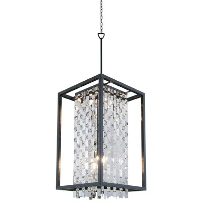 Amethyst 6-Light Foyer Pendant