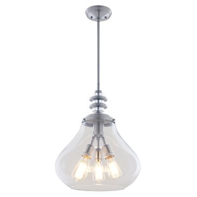 El Dorado 3-Light Schoolhouse Pendant