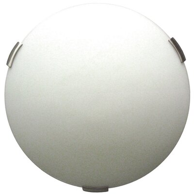 Orinoco 2-Light�Flush Mount Finish: Satin Nickel