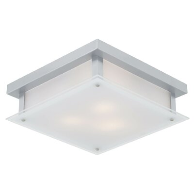 Helios 3-Light Flush Mount Finish: Chrome