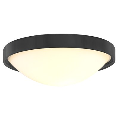 Inception 1-Light Flush Mount Finish: Satin Nickel
