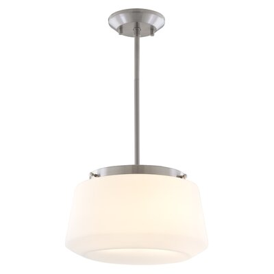 Levant 2-Light Pendant Finish: Chrome, Shade Color: Clear Glass