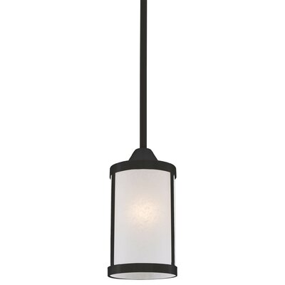 Uptown 1-Light Mini Pendant Finish: Graphite