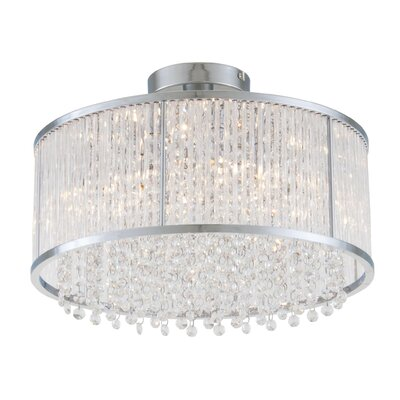 Sparxx 3-Light Semi Flush Mount