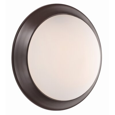 Valletta 2-Light Flush Mount Finish: Satin Nickel