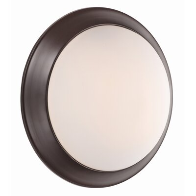 Valletta 1-Light Flush Mount Finish: Mocha
