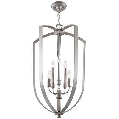Castille 6-Light Foyer Pendant Finish: Buffed Nickel