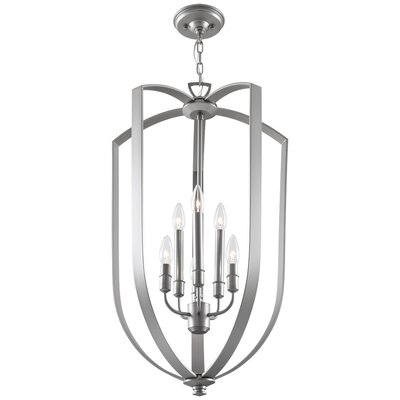 Castille 6-Light Foyer Pendant Finish: Chrome