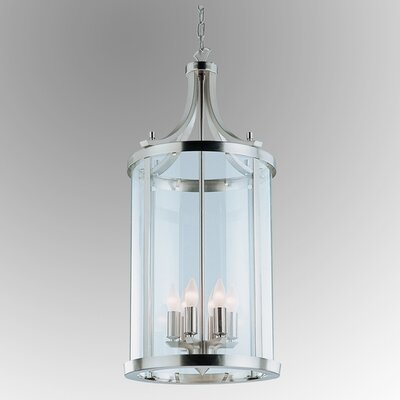 Niagara Foyer Pendant Finish: Satin Nickel