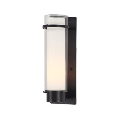 """DVI Essex 1 Light Outdoor Wall Sconce - Size: 9.5"""", Shade Color: Opal at Sears.com"""