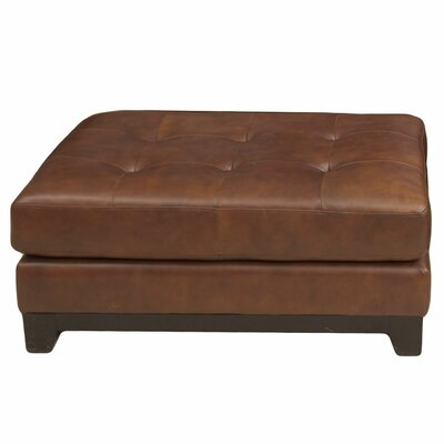 Corsario Cocktail Leather Ottoman