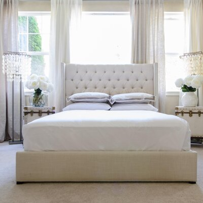 Upholstered Platform Bed Size: Queen