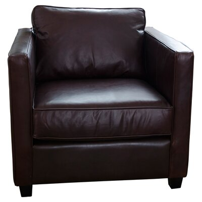 Urban Top Grain Leather Standard Armchair