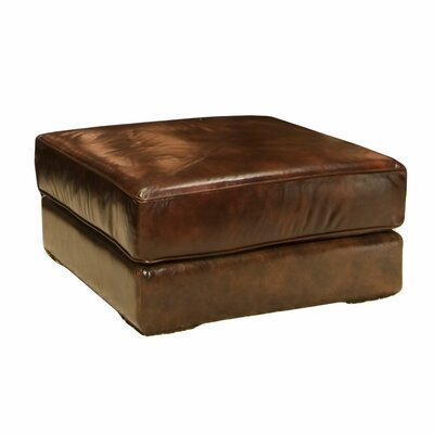 Laguna Leather Cocktail Ottoman