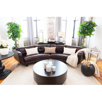 Isobe Leather Sectional