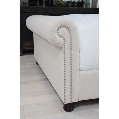 Watkins Upholstered Sleigh Bed Size: King