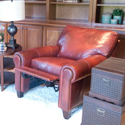 Garret Leather Manual Recliner