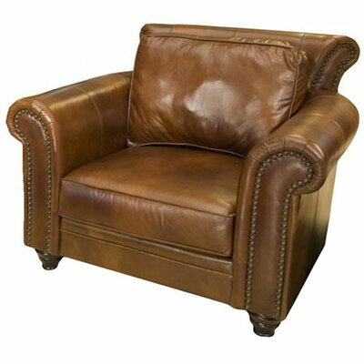 Paladia Top Grain Leather Armchair