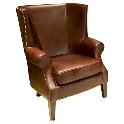 Camden Top Grain Leather Arm Chair