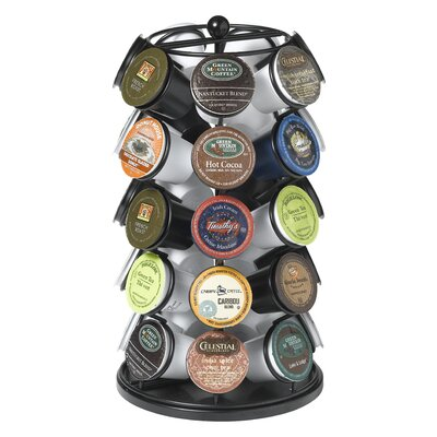 Carousel for 35 K-Cups in Powder Coated Black