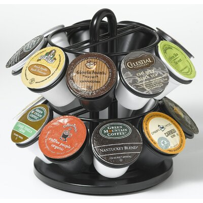 Mini Carousel for K Cups in Powder Coated Black