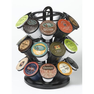 Carousel for 27 K-Cups in Powder Coated Black