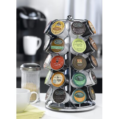 Carousel for 35 K-Cups in Chrome