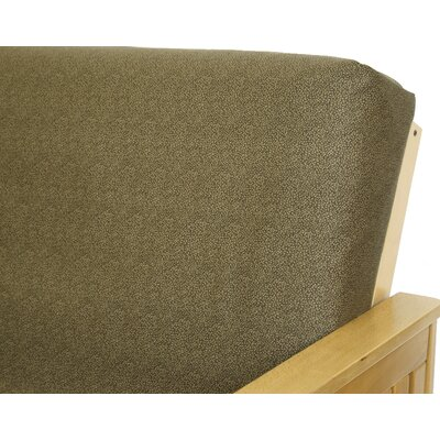 Safari Pebble Cotton Blend Futon Slipcover