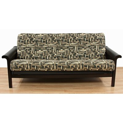Geometric Cotton Blend Futon Slipcover